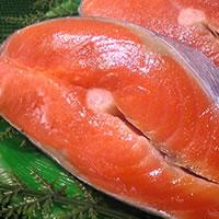 紅鮭の切り身